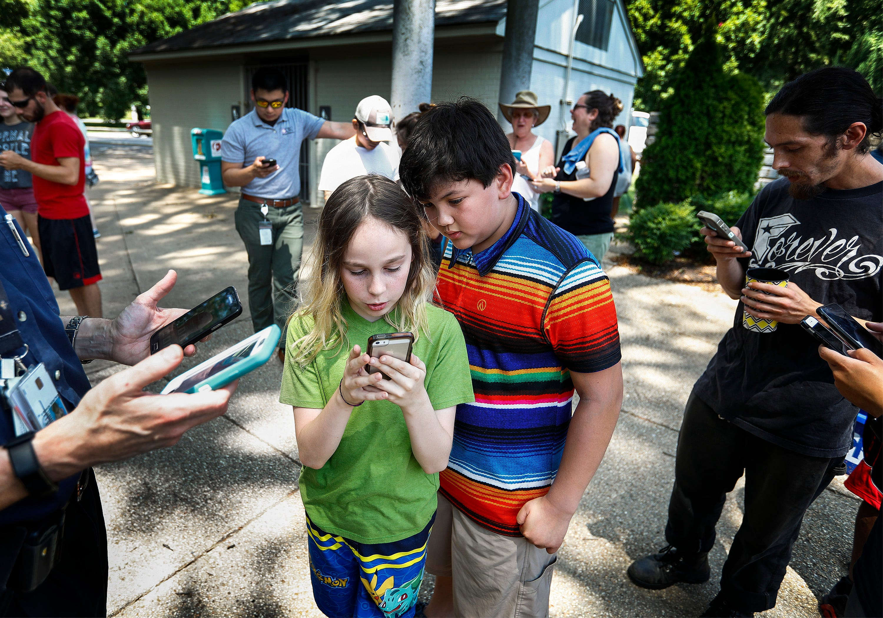 Two years later Pokémon GO! still going strong, creating communities in Memphis | The Commercial Appeal