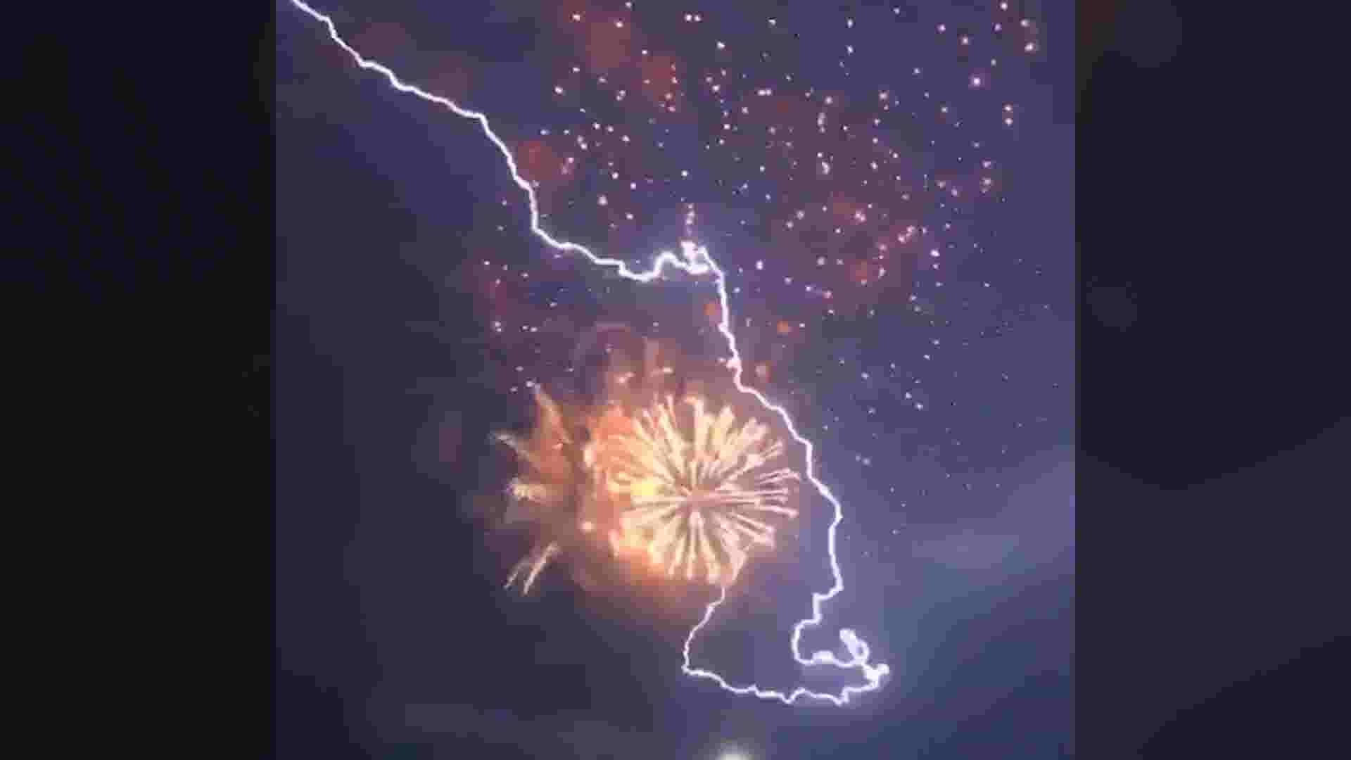 Philly Events July 2020.Lightning Steals The Spotlight During Fireworks Show