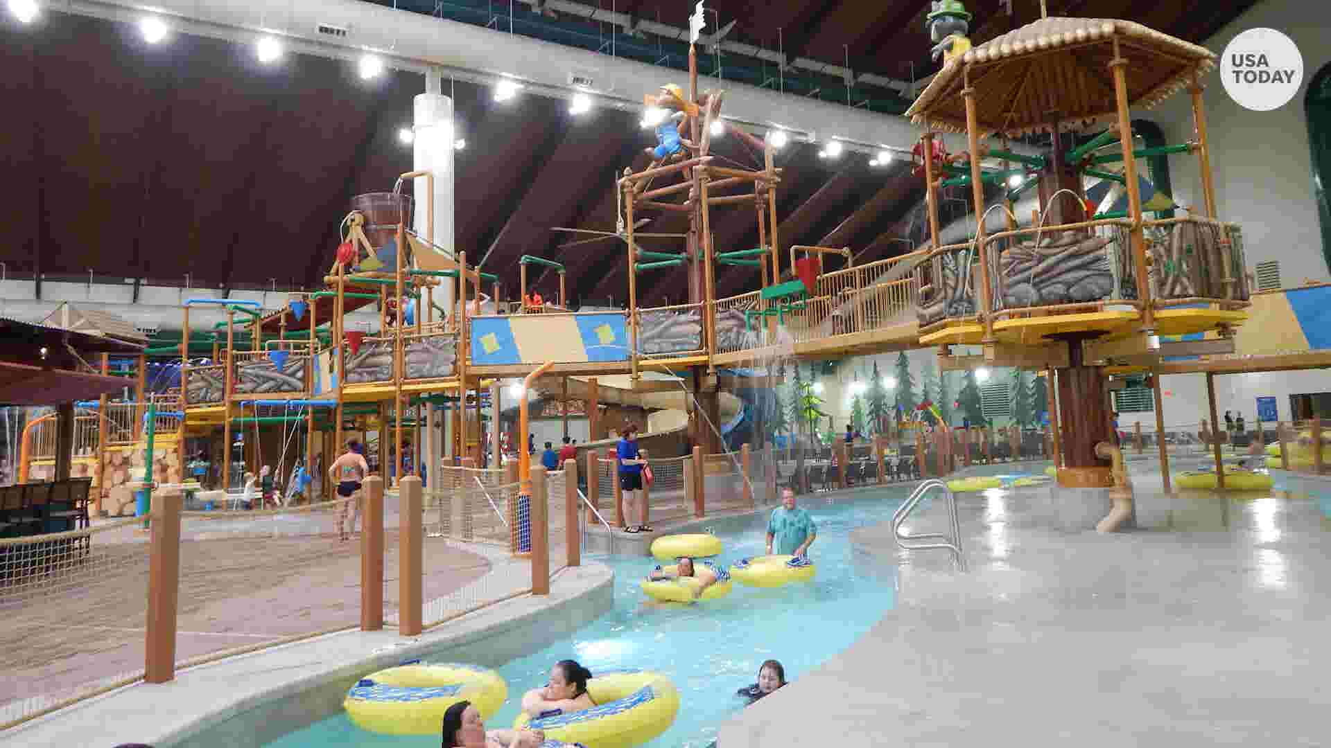 This Resort Has A Giant Water Park Inside