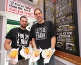 Dennis Rubich, the owner of The Dog Den in White Plains, talks about his new establishment and the more than 58 hot dog combinations.