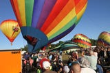 Sights and sounds of the annual Hudson Valley Hot Air Balloon Festival at the Dutchess County Fairgrounds in Rhinebeck July 7, 2018.