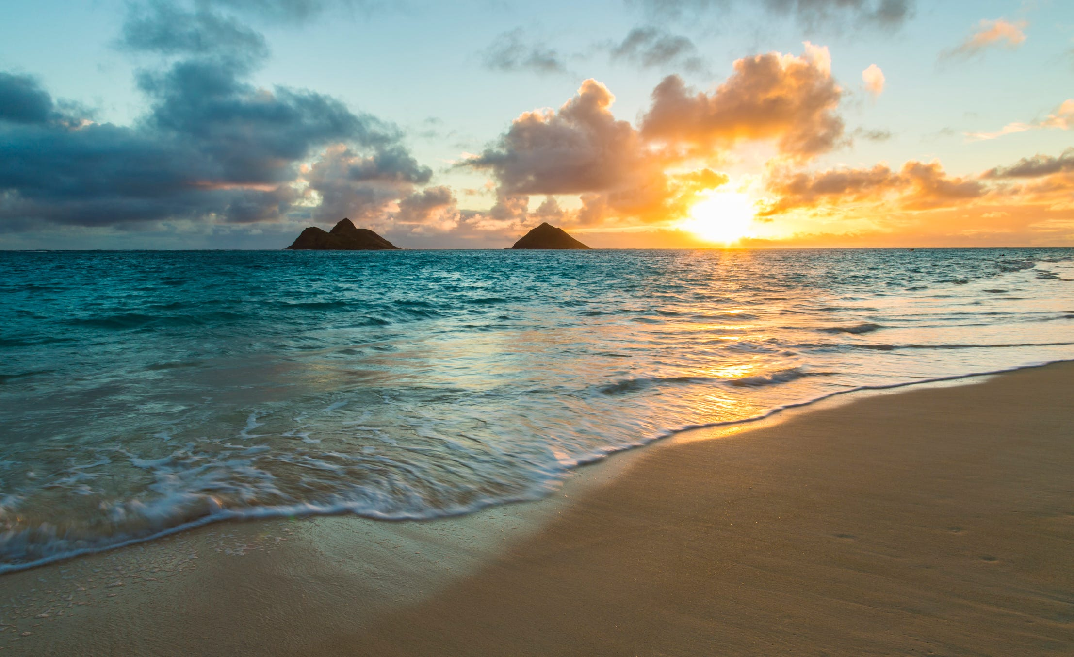The world's 25 most Instagrammed beaches   USA Today