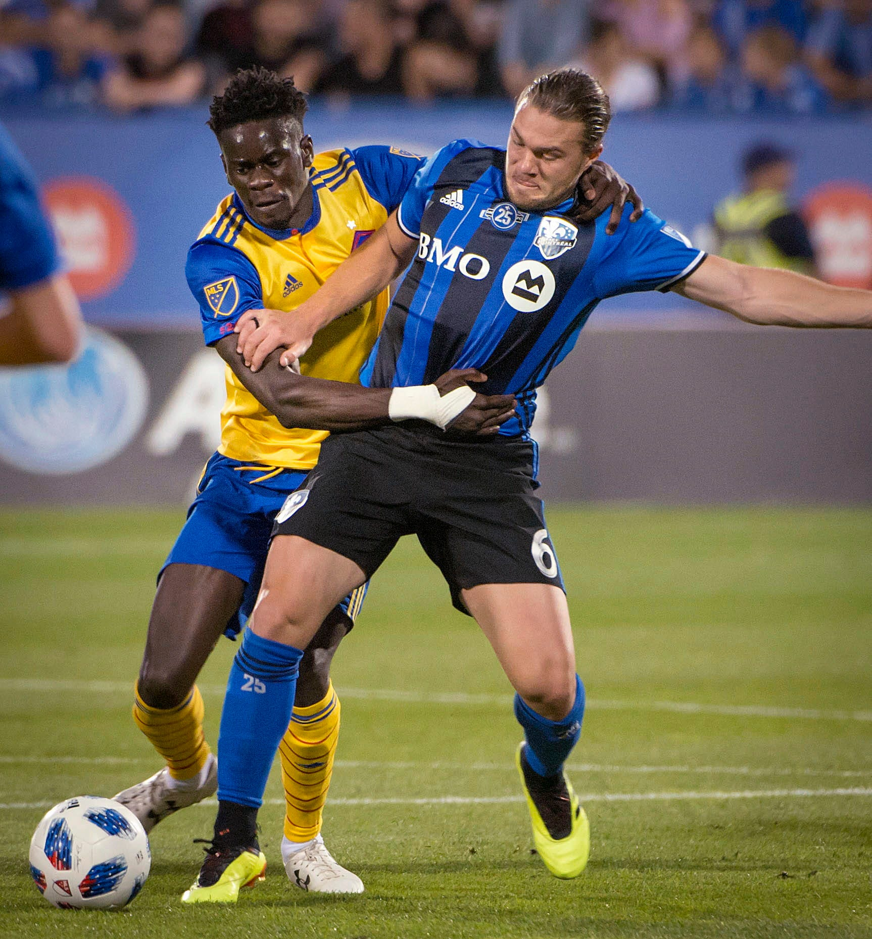 Taider scores 2 as surging Impact beat Rapids 2-1