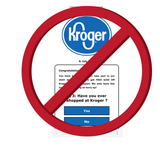Don't go to Kroger with a $250 shopping coupon you found on Facebook.