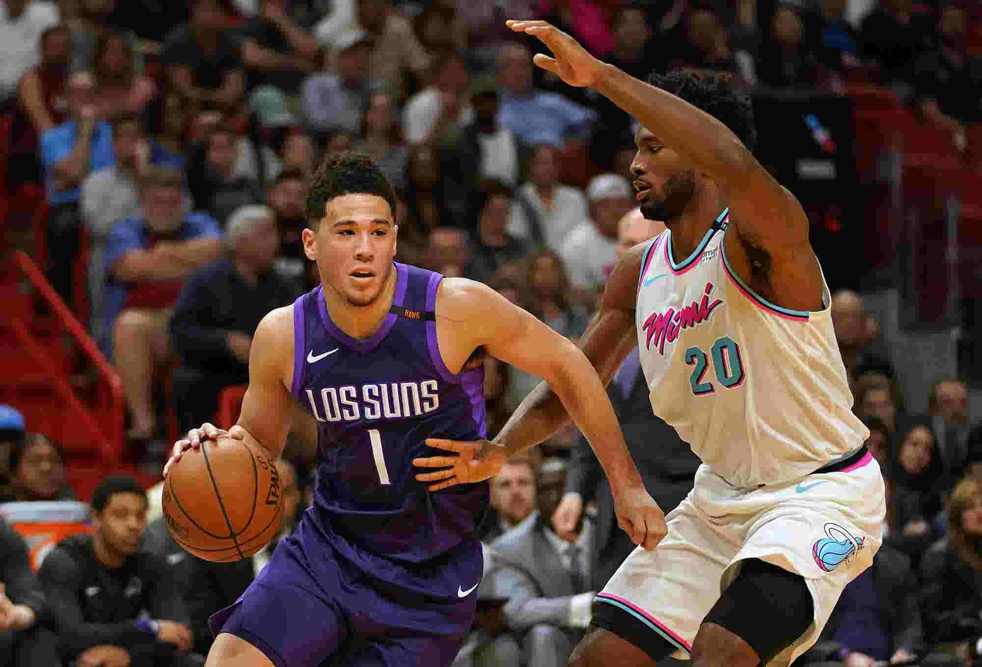 89afd8c7080a Devin Booker shoe deal  Phoenix Suns star nears sneaker free agency