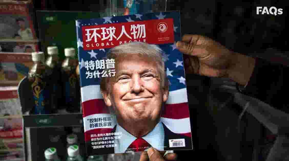 Image result for trump china lies