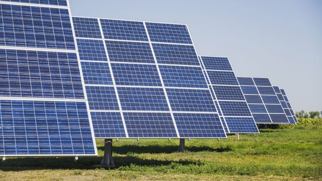 Solar and wind projects now are the least expensive way for utilities to add new electricity generation.