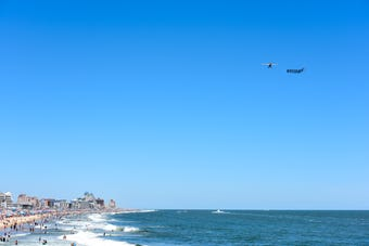 For some vacationers, a beach trip means getting away from politics. But political issues may not be that easy to avoid in Ocean City, Maryland.