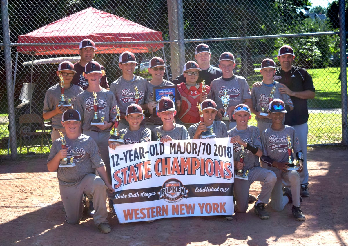 Elmira posts win in four games at Cal Ripken regional tourney
