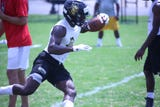 With the dead period over, Clarksville area high school football programs turned their attention to 7-on-7 competition this week.