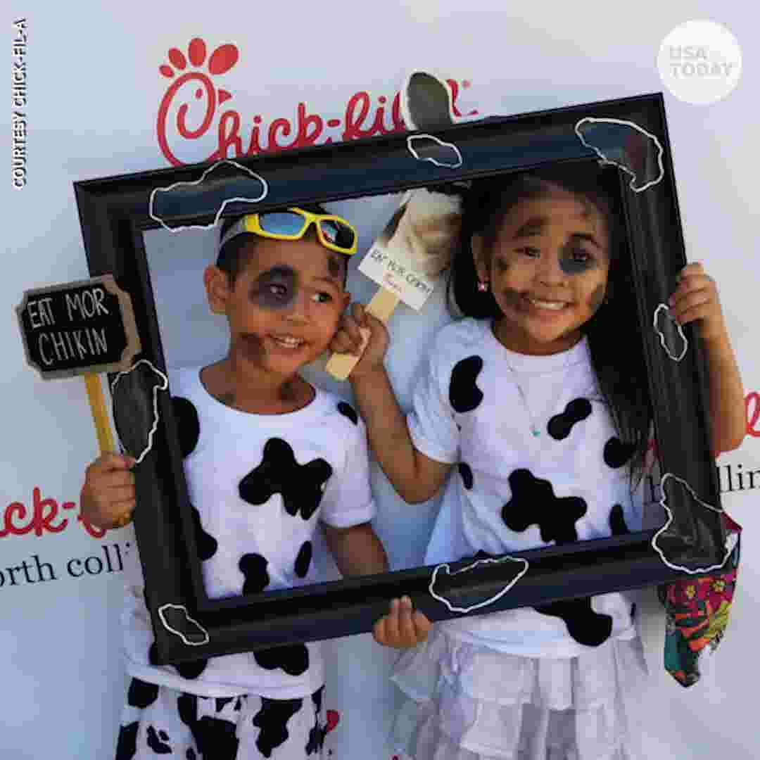 Dress Like A Cow Get Free Chick Fil Entree Today