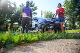 Rodeny Smith Jr. is mowing 50 lawns in all 50 states and encouraging kids to join in.