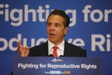 Governor Andrew Cuomo made a stop in Poughkeepsie to rally for reproductive rights and sign an executive order to guarantee contraception to women.