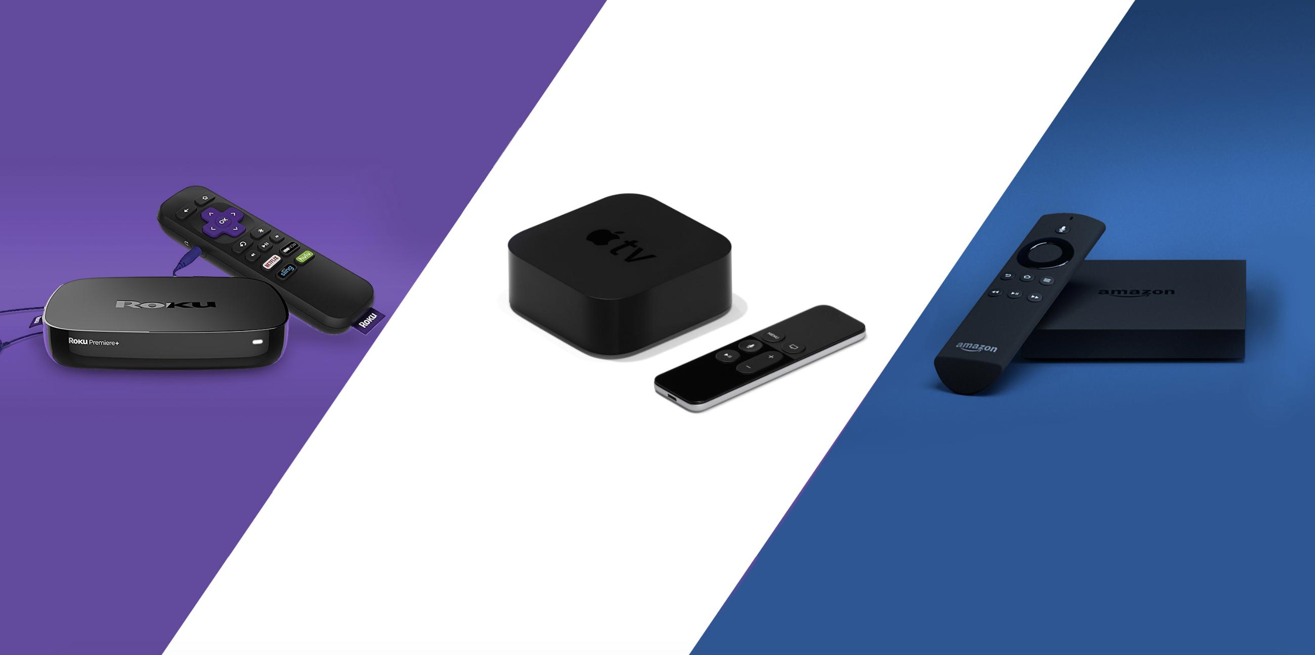 Roku vs Apple TV vs Amazon Fire TV — which is the best?