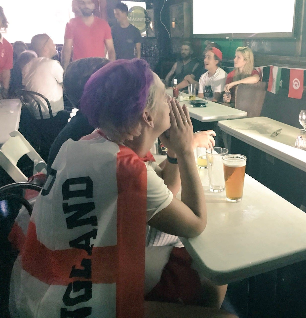 What it's like living through England's devastating World Cup loss at a British pub