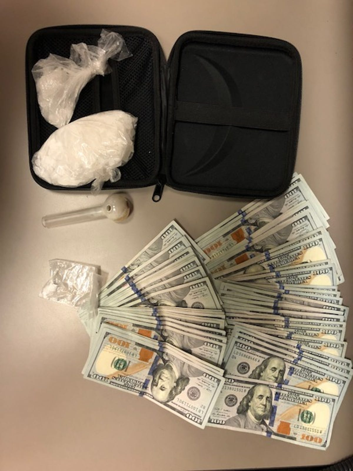 Police: Lemoore man found with meth, cash during traffic stop