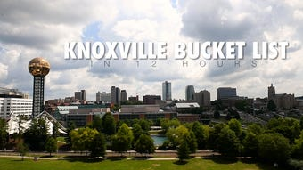Knoxville New Sentinel urban life writer Ryan Wilusz attempts the Knoxville Bucket List in 12 hours.