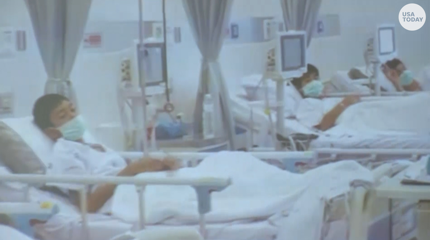 First look at the rescued Thai soccer team in hospital