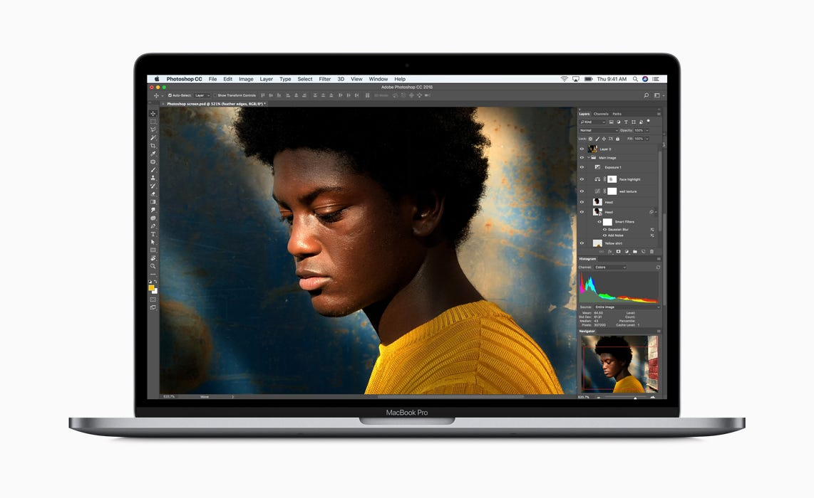 Apple boasts boosted speed, quieter keyboards in priciest MacBook Pros