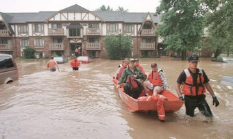 In Sheboygan, 20 years ago, over 10 inches of rain saturated the city, causing millions of dollars in damage.