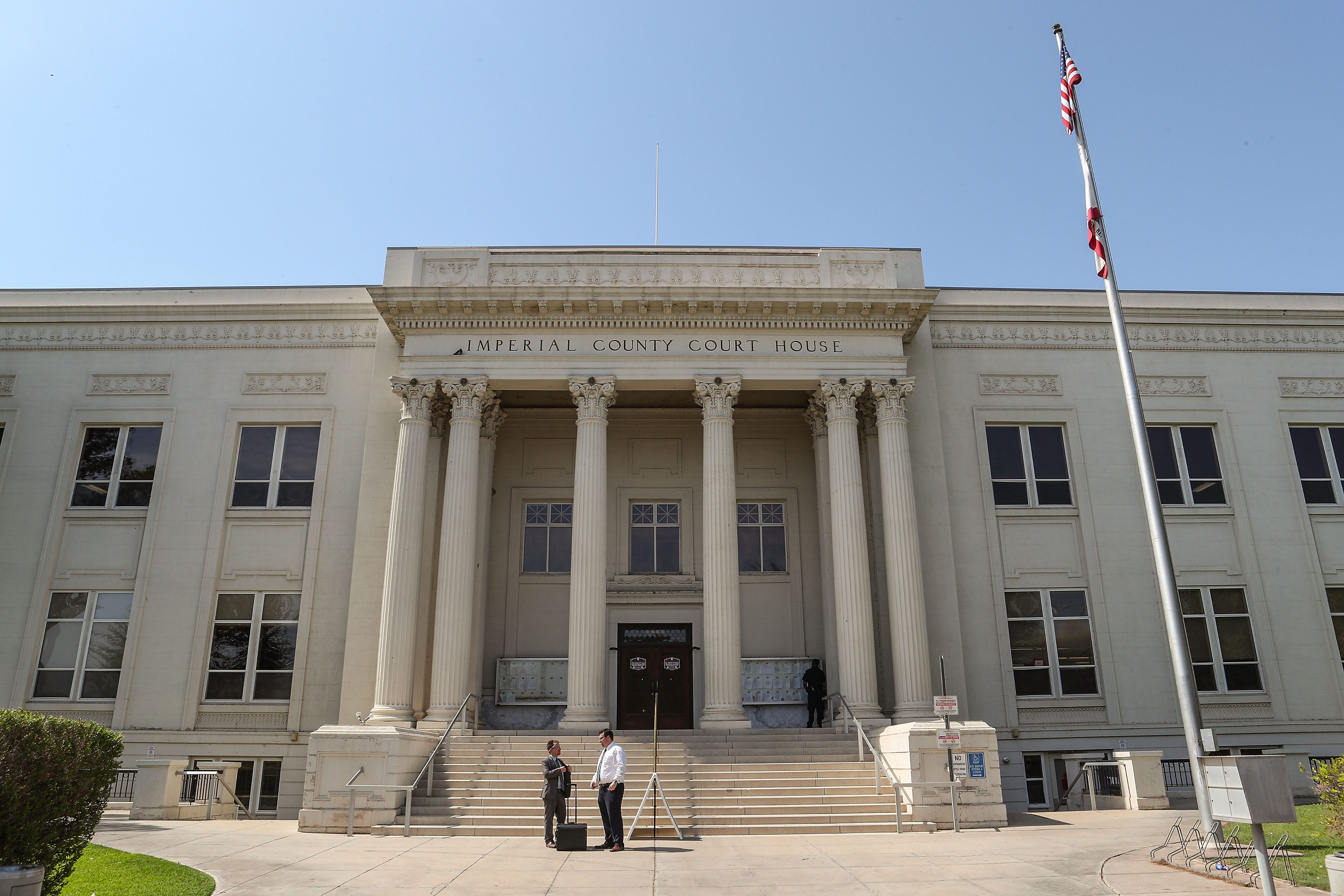 Imperial County Superior Court in El Centro, seen on July 12, 2018.