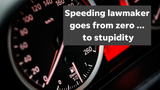 Not only was Arizona Rep. Paul Mosley caught going 97 mph in a 55 mph zone, but he bragged of going even faster, columnist EJ Montini says.