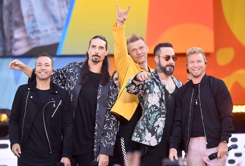 14 injured as storm hits Backstreet Boys concert venue at Oklahoma casino