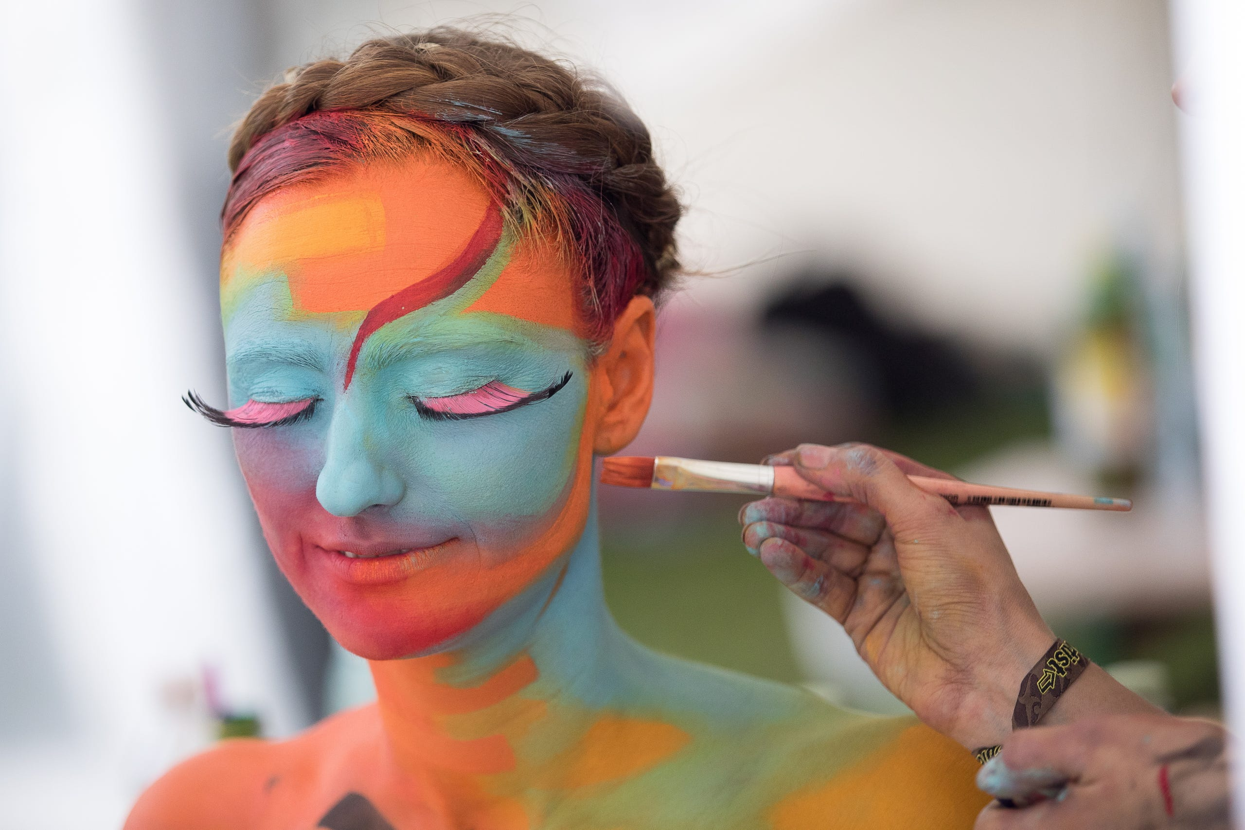 Skin In The Game At 2018 World Bodypainting Festival
