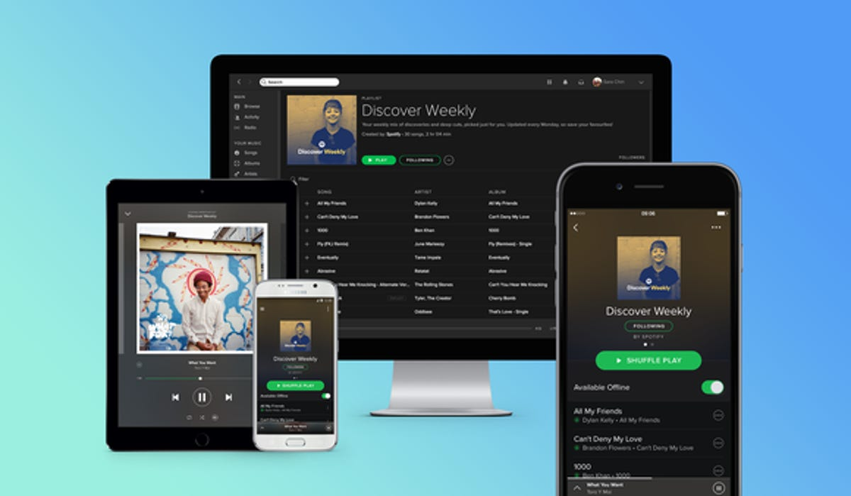 What you do on Spotify is public and can be used against you