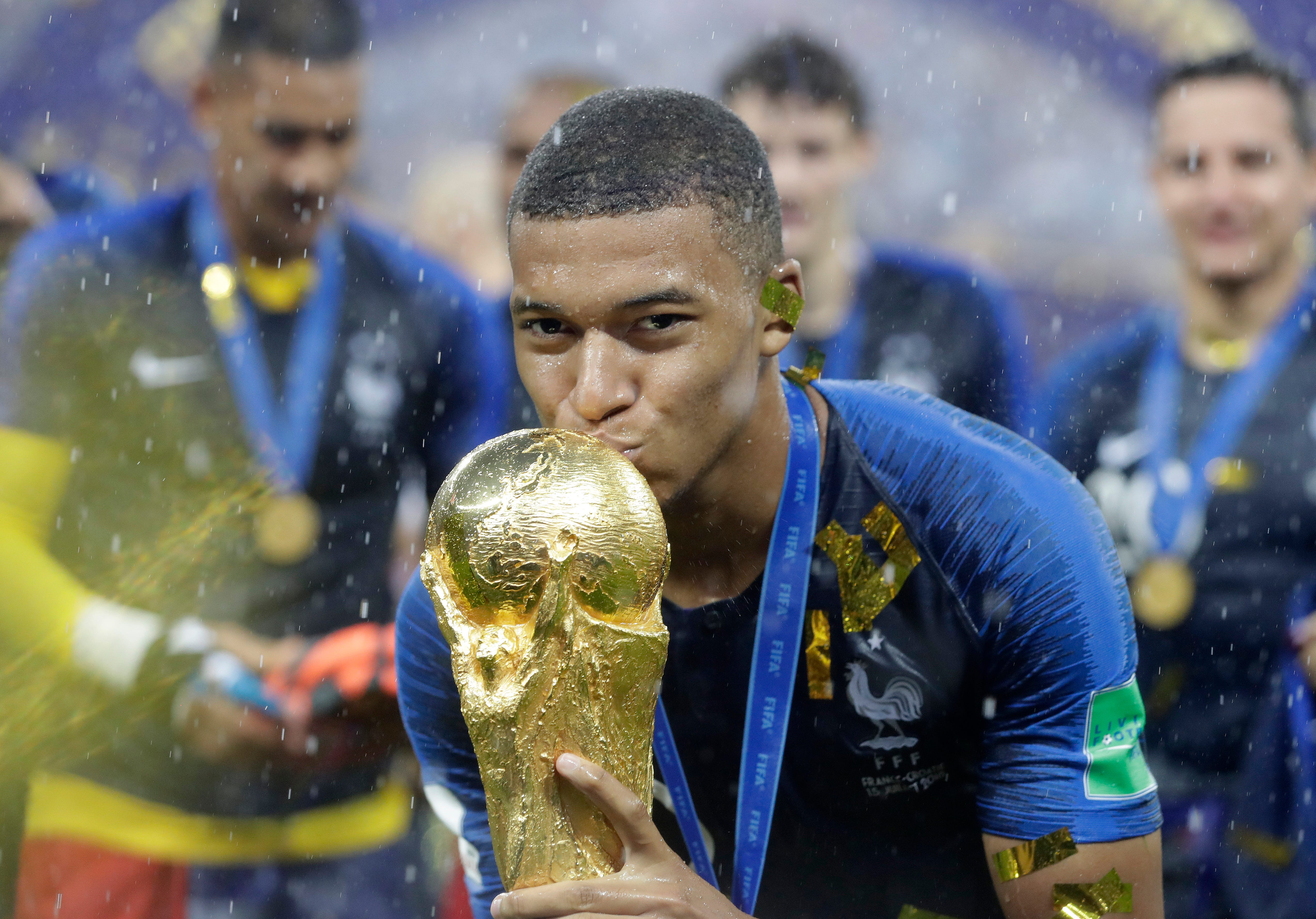 fb71e38a3 The Latest  Pele praises French teenager Mbappe at World Cup 8 Months ago