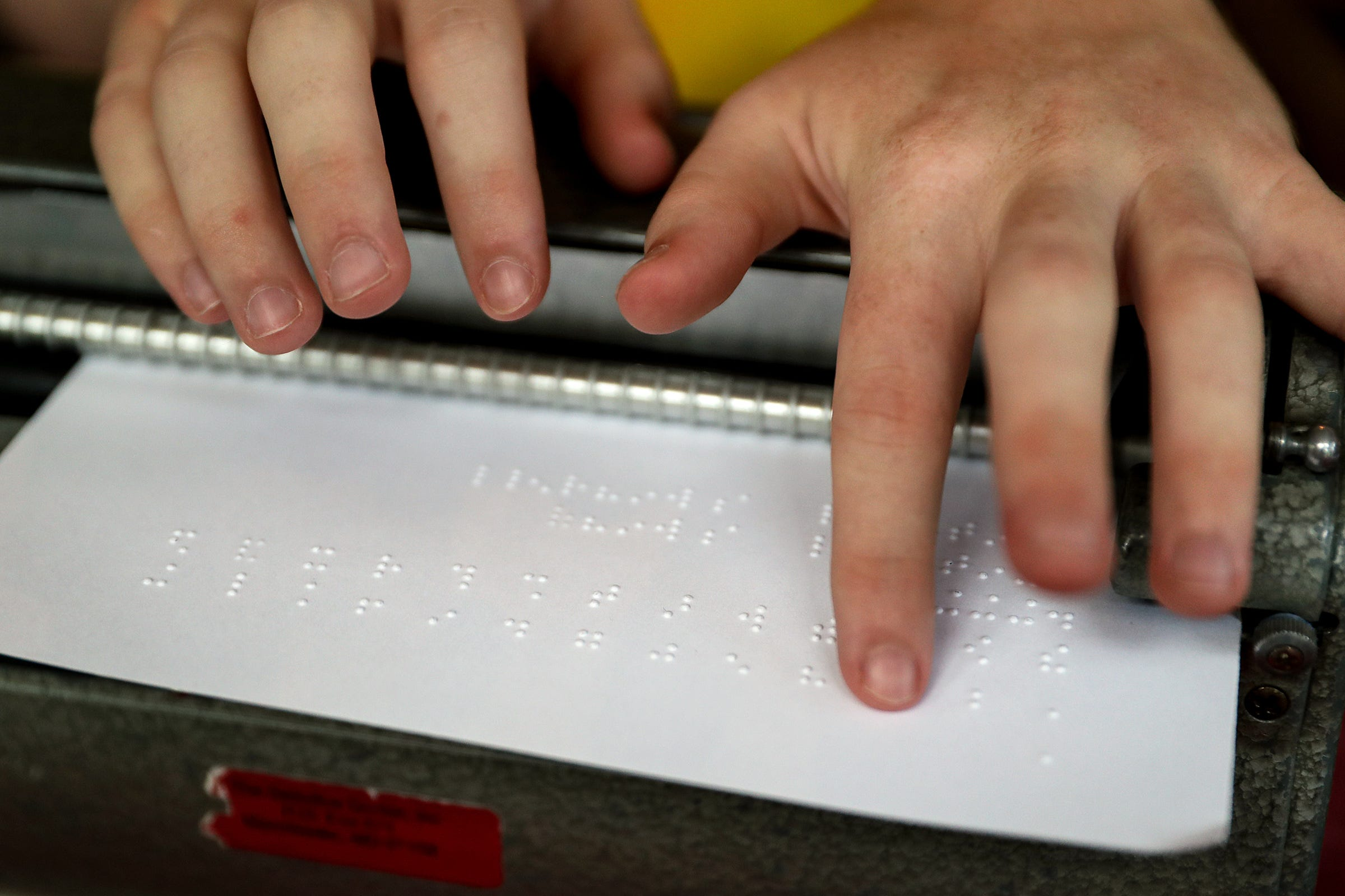 Hendricks County teen wins national braille competition; hopes to ...