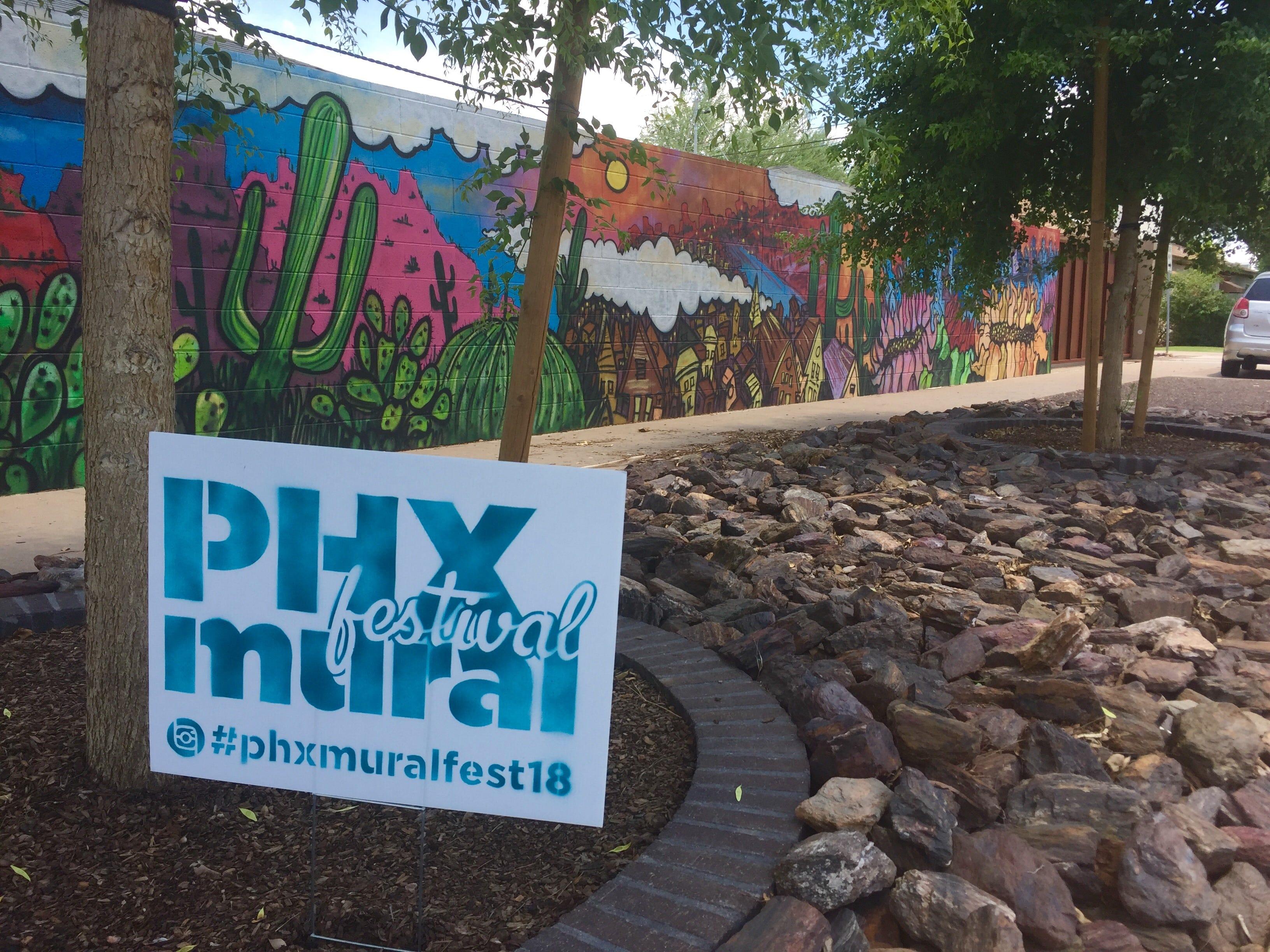 Murals in Phoenix's historic Willo neighborhood stir controversy | AZ Central