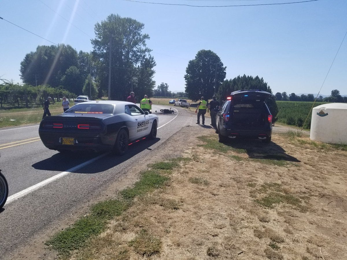 Motorcyclist dies in fatal crash on River Road South near