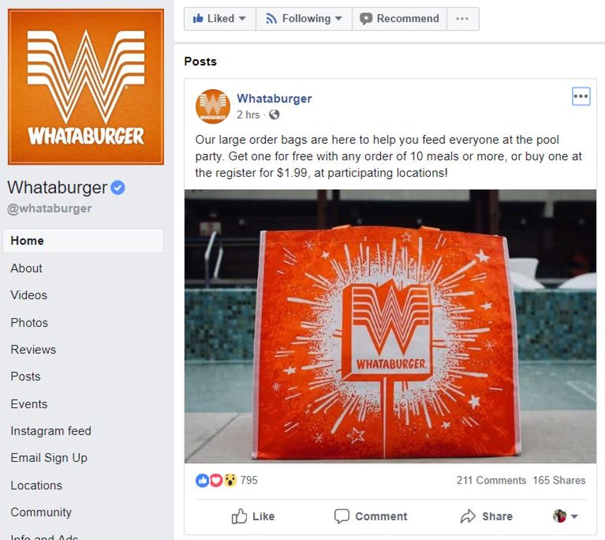 342869336e4 Whataburger gives free reusable bags with bigger meal orders