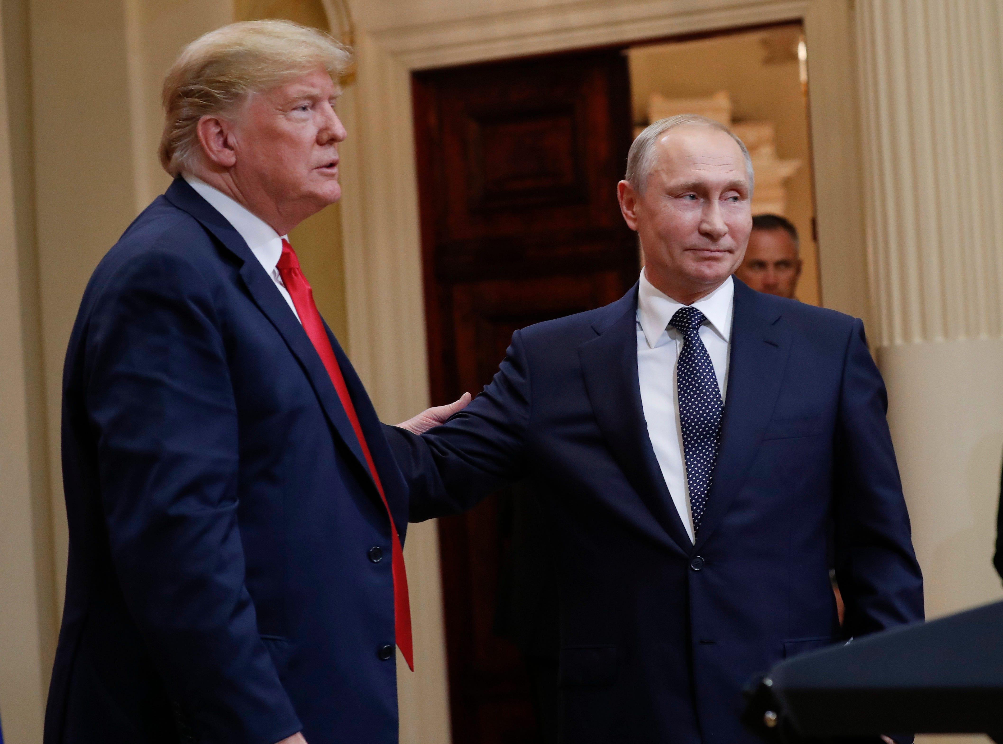 Trump's remarks disputing Russian meddling reverberates along Senate campaign trails nationwide