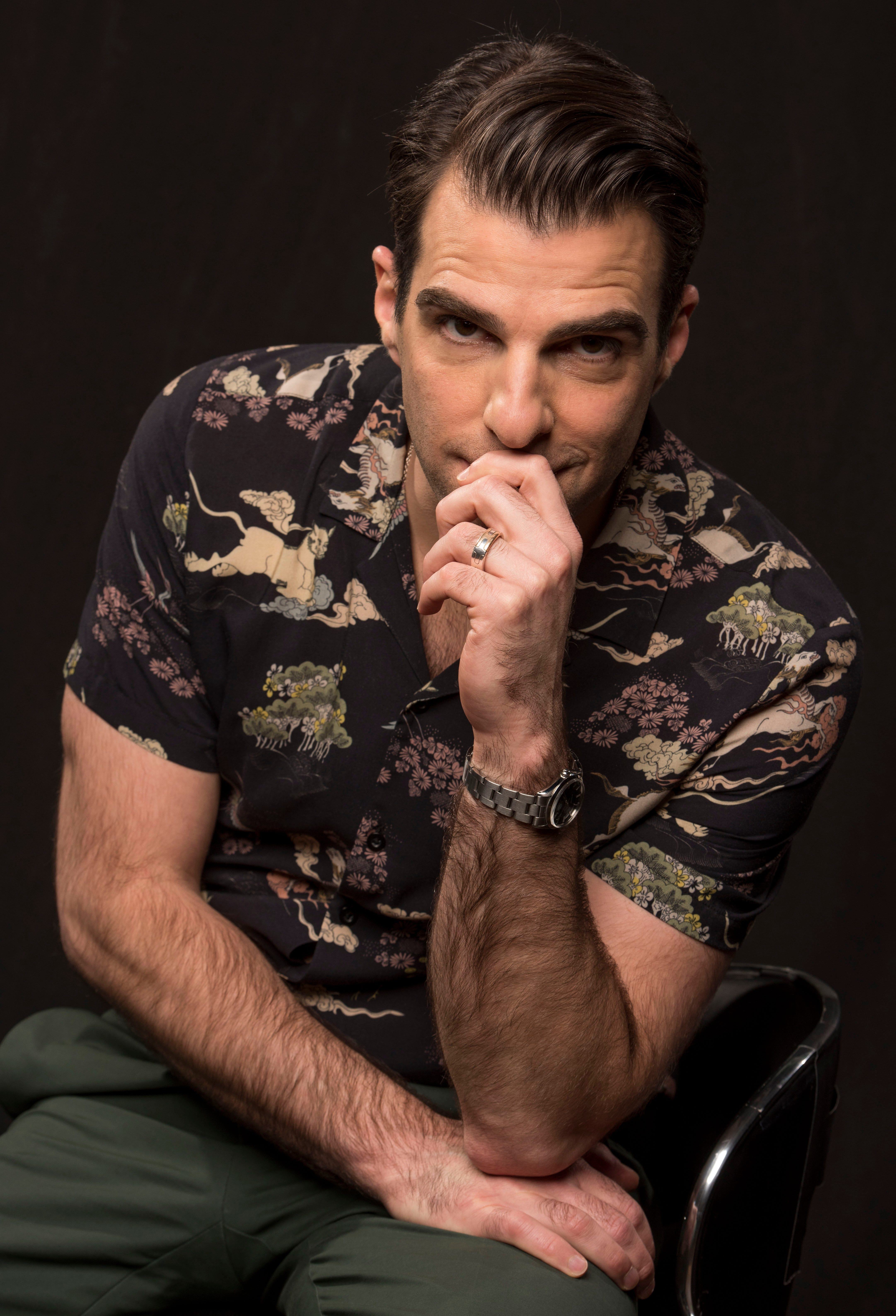 Zachary Quinto on reviving Leonard Nimoy's 'In Search Of,' Tarantino's R-rated 'Star Trek'