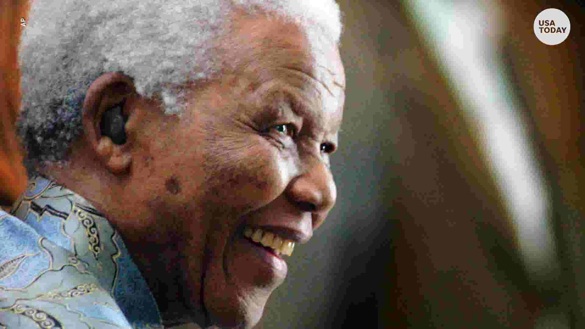 close the late anti apartheid revolutionary and former south african president