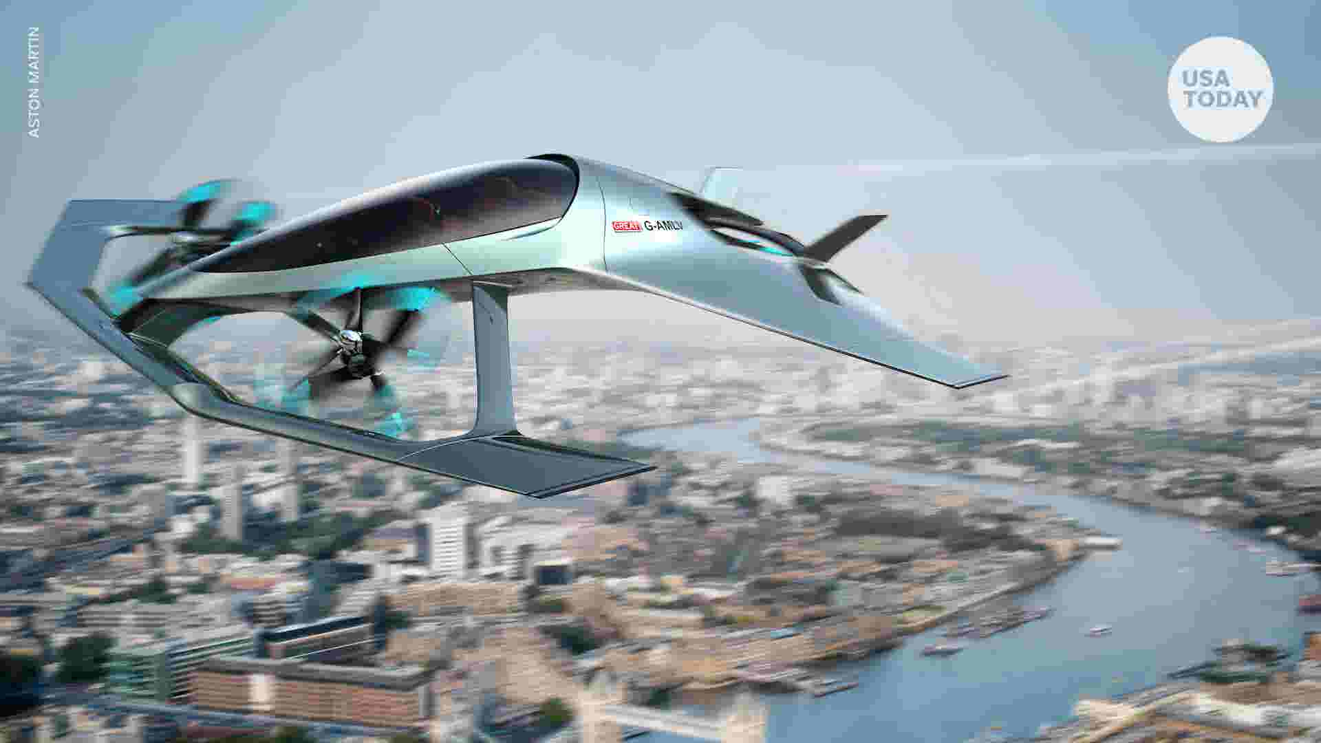 Aston Martin s flying car concept is fit for James Bond
