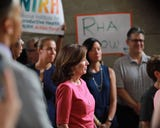 Lt. Gov. Kathy Hochul talks about why the voters should vote for her in the upcoming election, July 17, 2018.