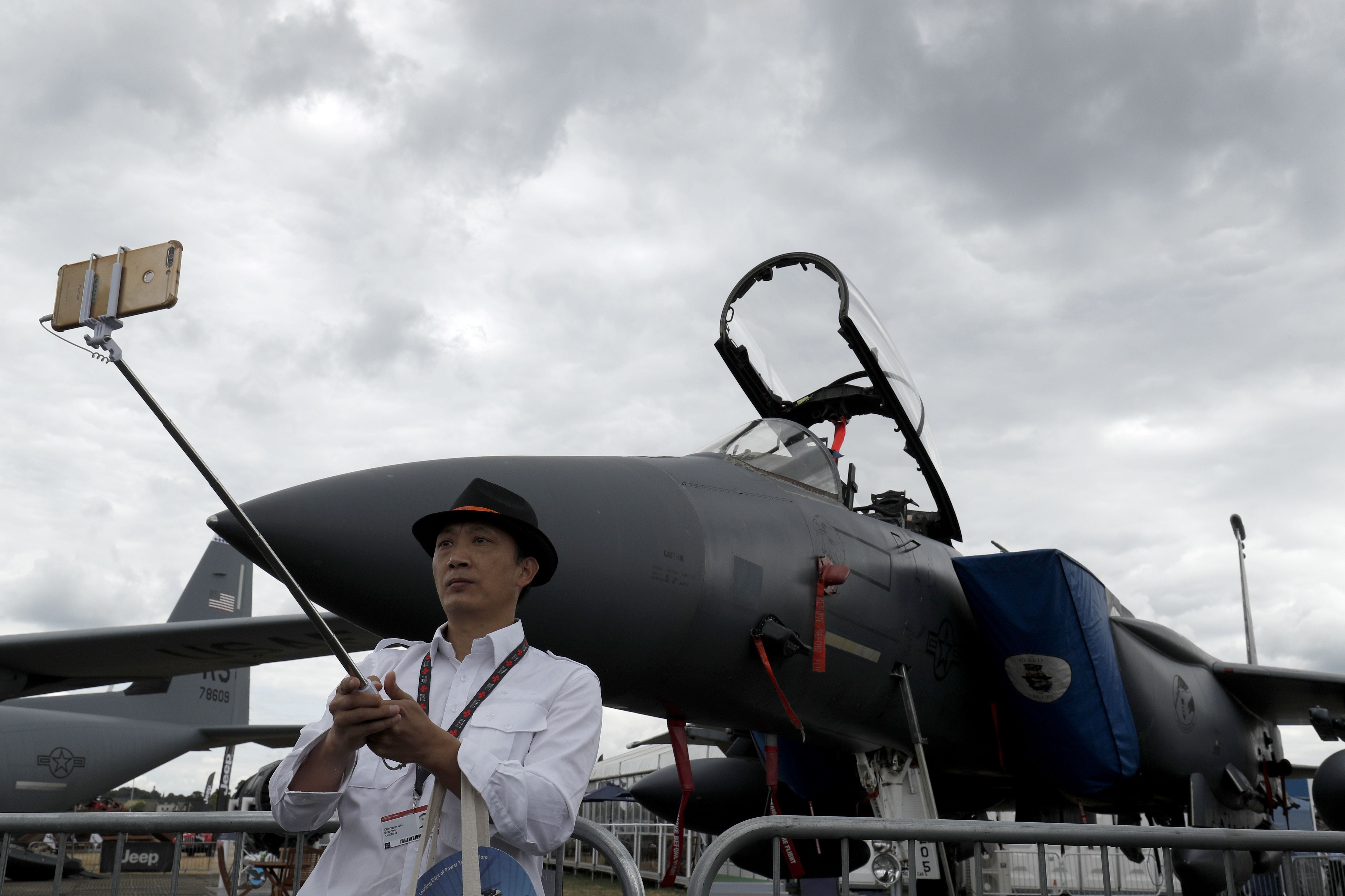 Scenes from the 2018 Farnborough Airshow   USA Today