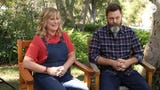'Parks and Recreation' alums Amy Poehler and Nick Offerman hope their new reality TV show 'Making It' makes viewers want to turn of their TVs.