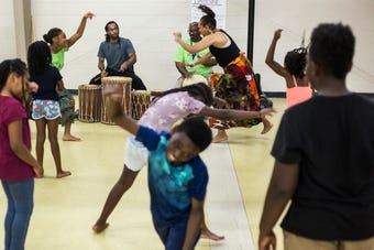 Ballet camp helps children learn dance and focus on academics