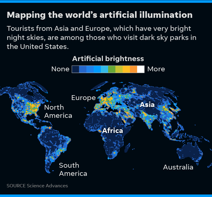Dark sky parks: Artificial light is killing night sky but there\'s hope