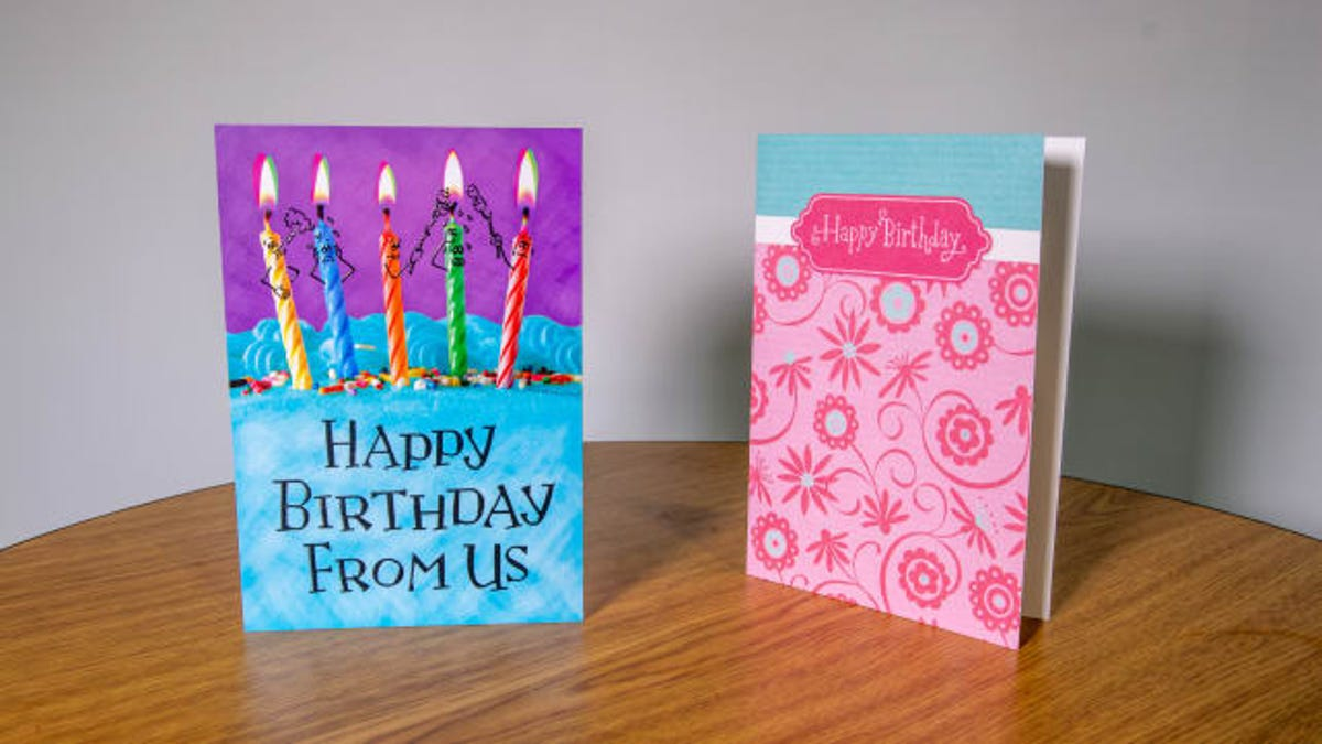 Walmart CVS May Cut Greeting Card Space As Cards Fall Out Of Favor