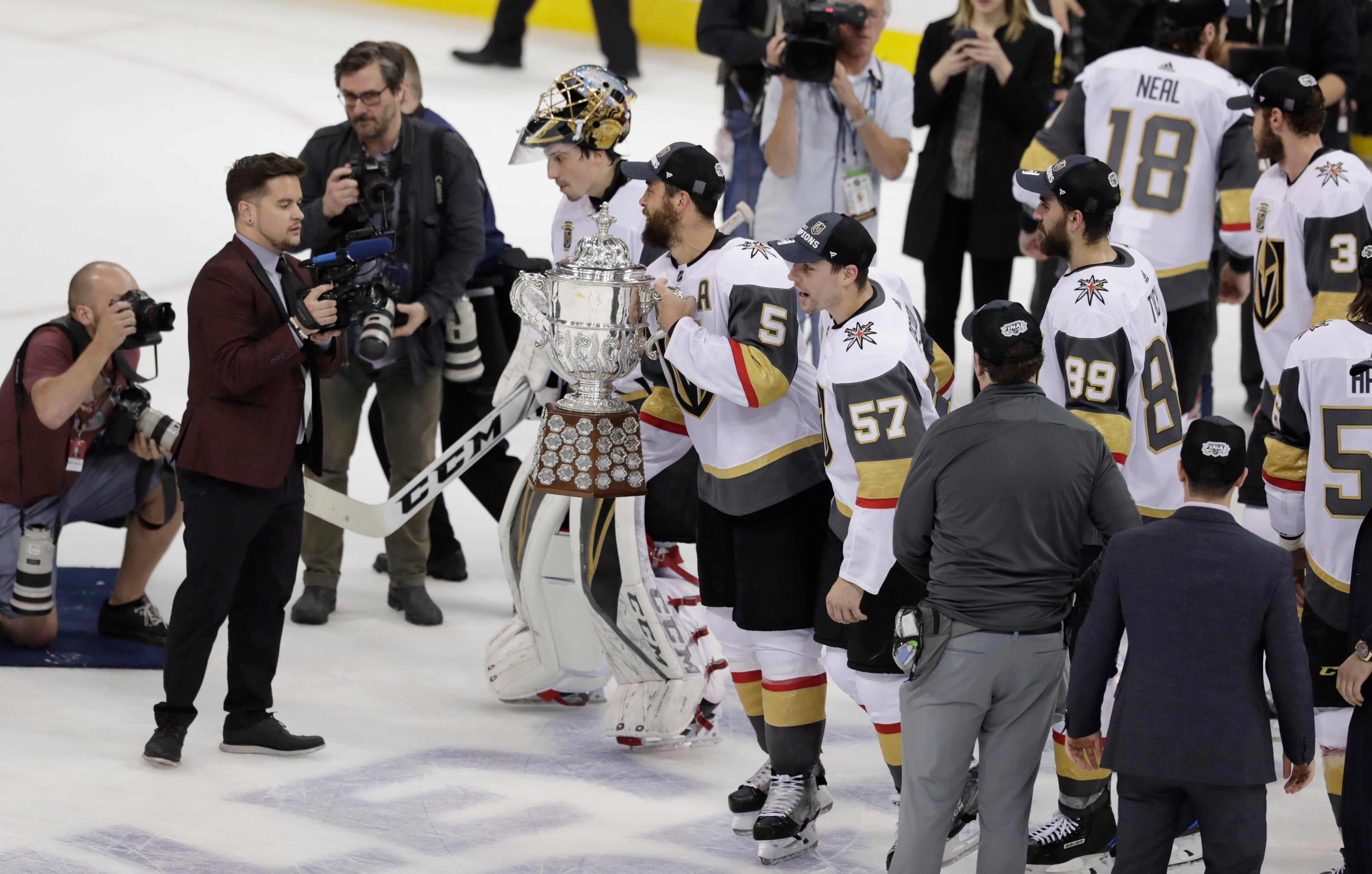 Vegas Golden Knights resolve trademark dispute with US Army