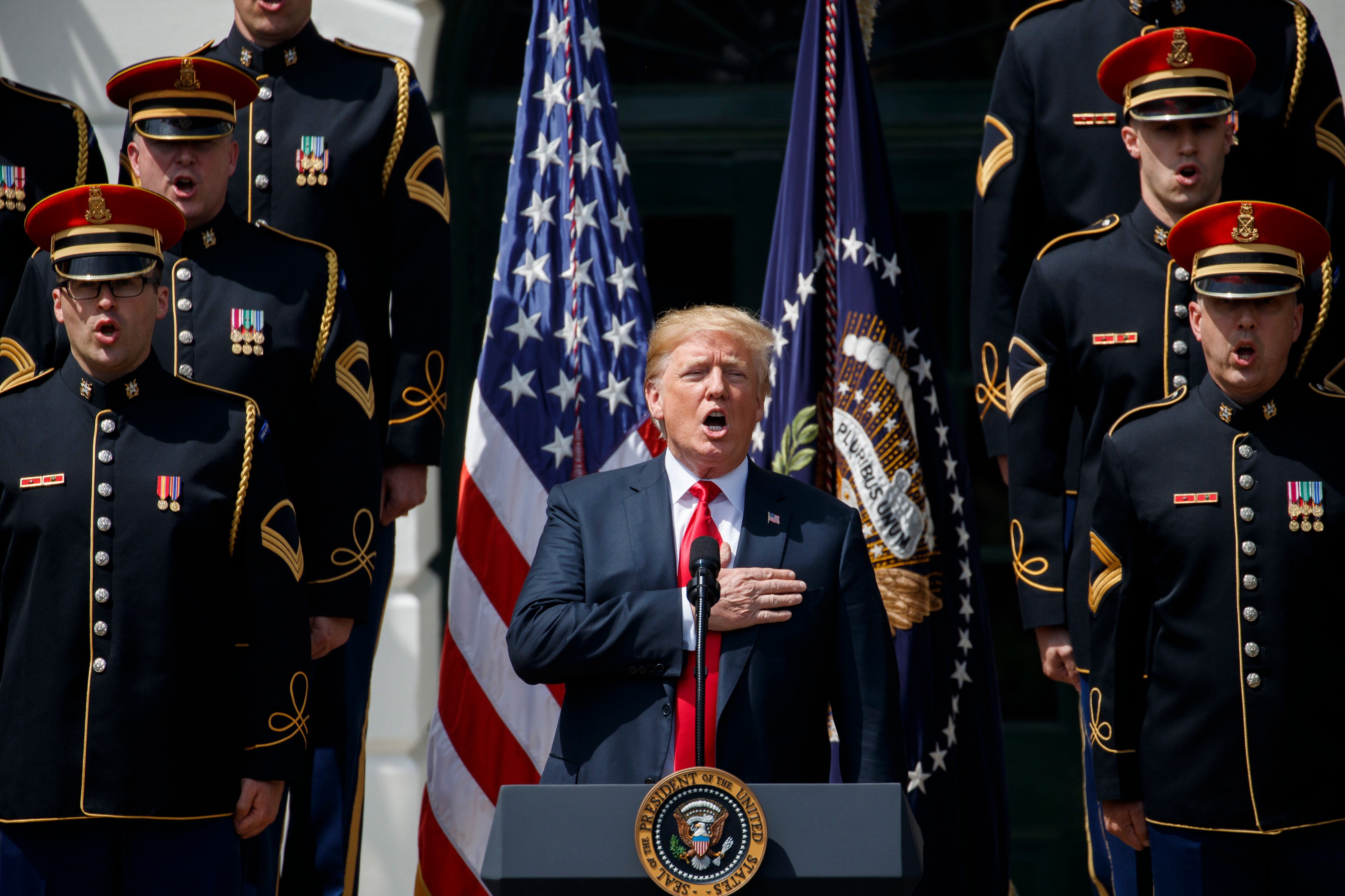Trump has no right questioning patriotism of NFL players
