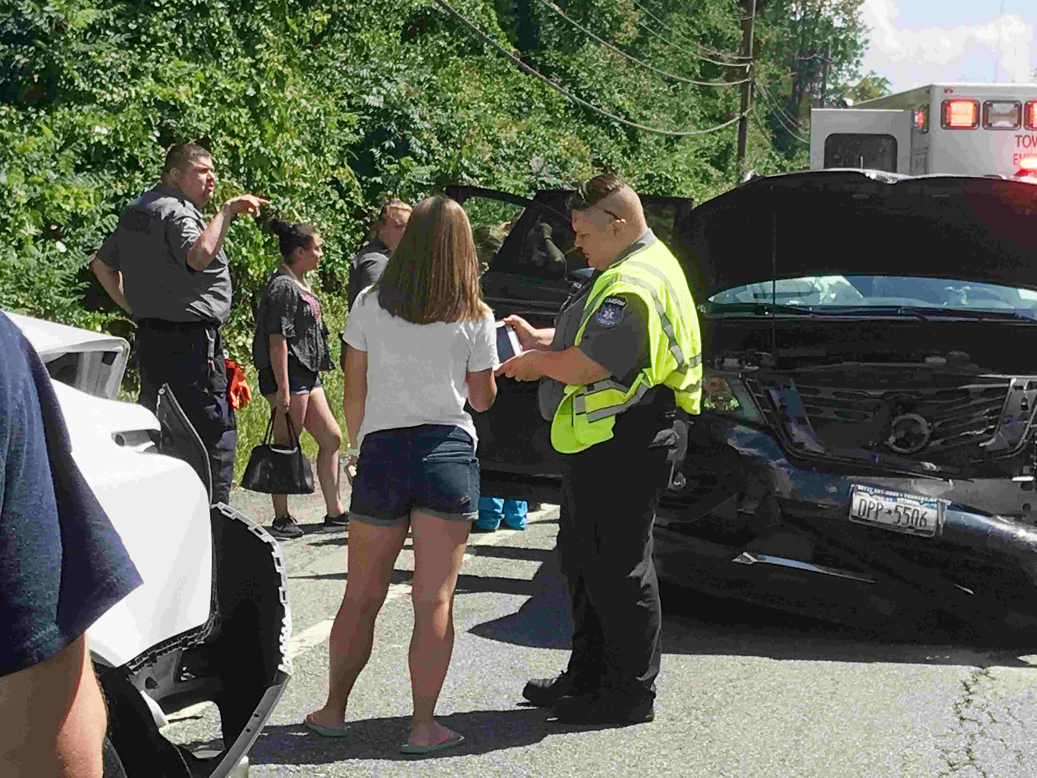 Video: Multi-vehicle accident injures six on Rt  22 in Patterson