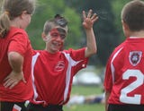More than 400 youth players gathered at Black River Middle School in Chester Saturday morning.
