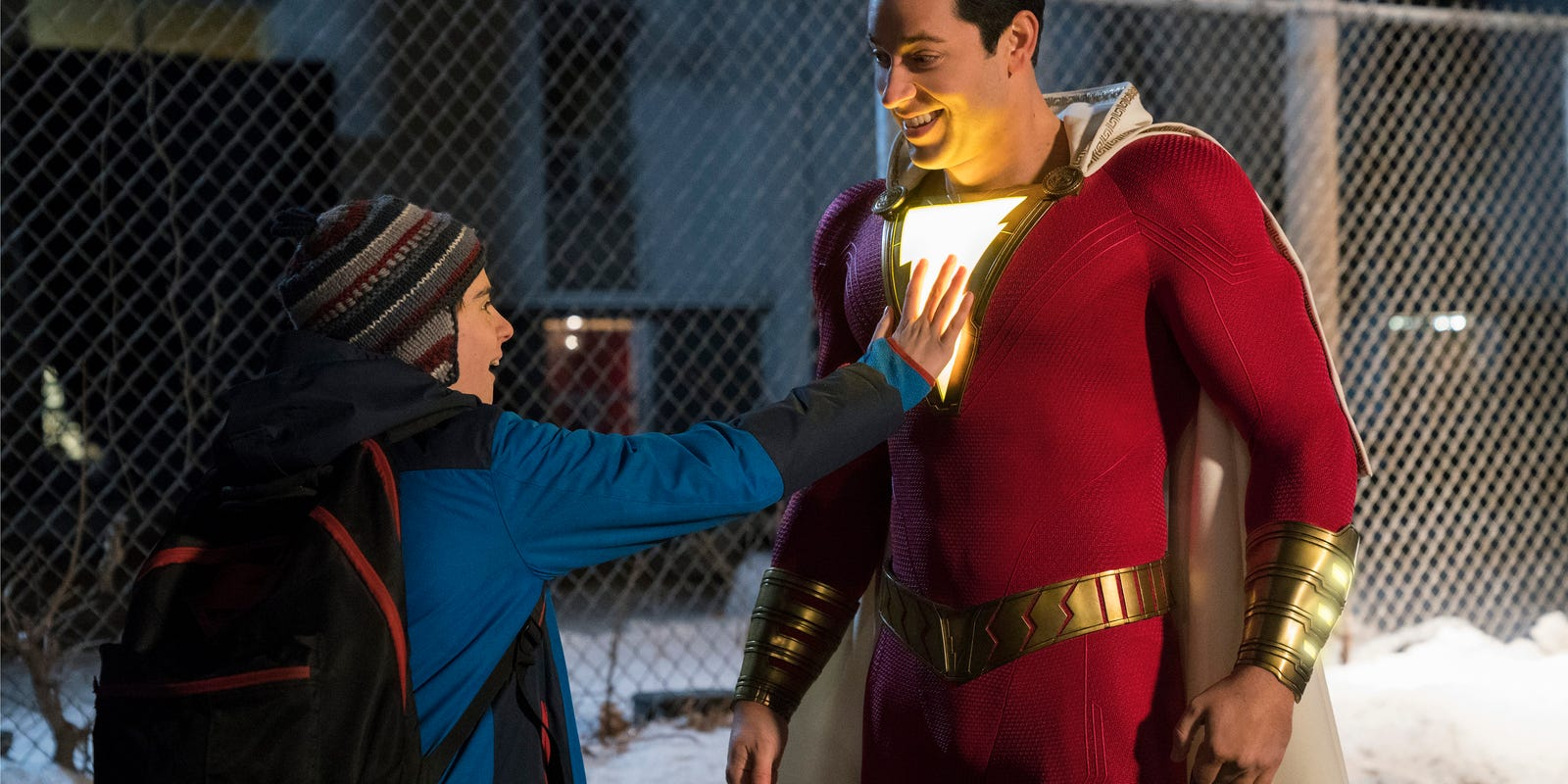 'Shazam' turns a foster boy into a caped crusader