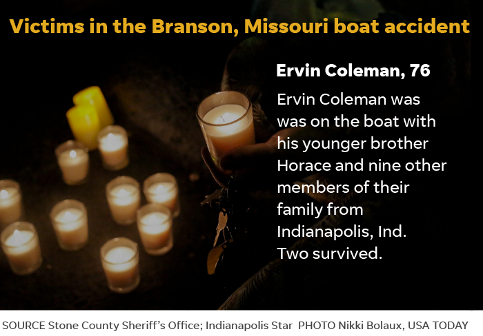 Duck boat tragedy: Coleman family members who died were about kids